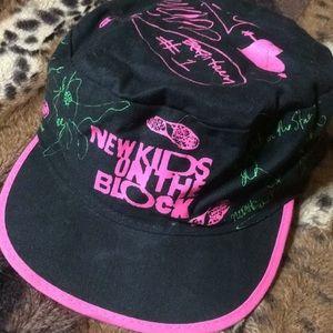 VINTAGE!! NKOTB Military Style Baseball cap